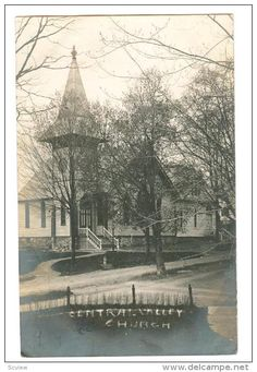 RP: Church , CENTRAL VALLEY , New York , PU-1907 - Delcampe.com