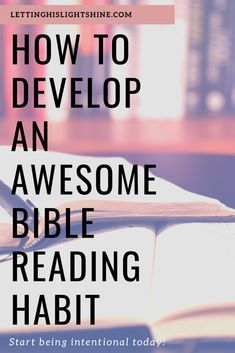 To Develop An Awesome Bible Reading Habit! How To Develop An Awesome Bible Reading Habit!How To Develop An Awesome Bible Reading Habit! Bible Scriptures, Bible Quotes, Bible Study Tips, Reading Habits, Religion, Christian Faith, Christian Women, Christian Living, Morning Prayers