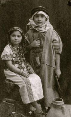 Rosemary and Edward Said, Jerusalem, 1940   Source: British Mandate Jerusalemites Photo Library