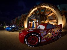 Wheel Well Motel - Art of Animation, Disney World.    I can't wait to take Nate here in June!