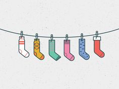 Christmas Sockings Christmas Sockings by Andrew Greeson for NJI Media Raccoon Illustration, Character Illustration, Illustration Art, Cartoon Drawings, Cute Drawings, Bedroom Drawing, S Logo Design, Chalkboard Art, Cool Socks
