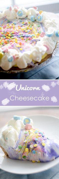 #unicorn #cheesecake #cake #food #foodie #foodporn