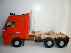 """Mi camión """"Volvo FH-16 520 Globetrotter XL6x4"""" hecho en madera [homemade]por PinxoGTD - ForoCoches"""