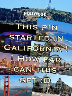 L.A California :D, Wisconsin, Florida :),California!!;), ohio, New York, England:D, Washington