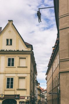 The Hanging Man - Lovely, Provocative, Quirky Prague, Czech Republic