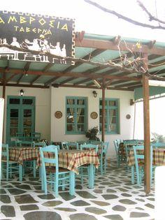 Paros - restaurant terrace