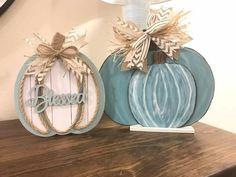 Wooden Pumpkin Crafts, Fall Wood Crafts, Acorn Crafts, Wooden Pumpkins, Faux Pumpkins, Dollar Tree Fall, Dollar Tree Decor, Dollar Tree Crafts, Fall Wood Signs