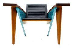 """Stefan Zwicky - Stefan Zwicky """"Lesestation"""" Lounge Chair, Switzerland, 1987"""