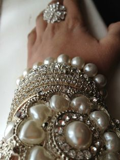pearl bling stacked