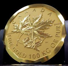 Gold Bullion Bars, Canadian Coins, Valuable Coins, Coins Worth Money, Coin Art, Gold Money, Gold And Silver Coins, World Coins, Dollar Coin