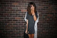 (Evil Twin top, American Apparel silk shorts, All Saints bag, Fashionology necklace)