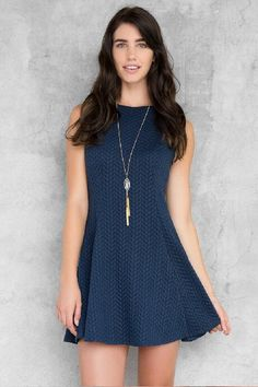 Ember Textured Dress $48.00