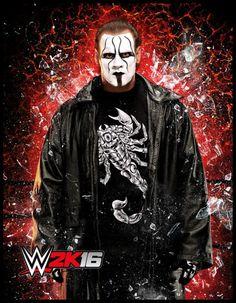 Sting en WWE 2k16