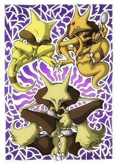 Abra! Kadabra! Alakazam! by PhaseChan on DeviantArt