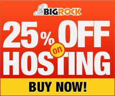 Are you going to purchase webhosting and domains on Bigrock and Looking for a coupon code.Then this article is for you.Check out this post to get 25 % Discount on webhosting and 11 % discount on domains...  http://www.frip.in/grab-25-discount-on-bigrock-webhosting-and-11-domains/#