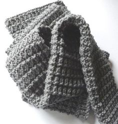 The Perfect Men's Scarf | AllFreeKnitting.com