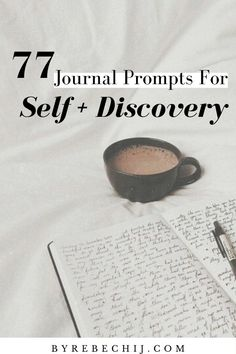 77 Journal Prompts For Self-Discovery and Personal-Growth – by rebechij Here are 77 journal prompts for personal growth and self discovery. Daily journaling can help you discover a lot about yourself that you never knew before! Development Quotes, Self Development, Personal Development, Journal Writing Prompts, Journal Ideas, Mental Health Journal, Self Improvement Tips, Self Discovery, Mindful Living