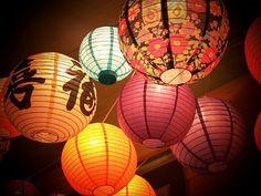 Art: 'Paper Lanterns' by Artist Melanie  Myhre
