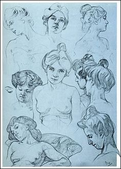 Alphonse Mucha   1860 ~ 1939    Documents Decoratifs ~ 1901