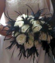 cool 43 Adorable Halloween Wedding Bouquets Ideas using Black Roses  http://viscawedding.com/2017/11/15/43-adorable-halloween-wedding-bouquets-ideas-using-black-roses/