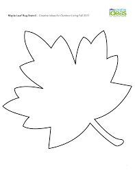 Superior Image Result For Maple Leaf Drawing Template