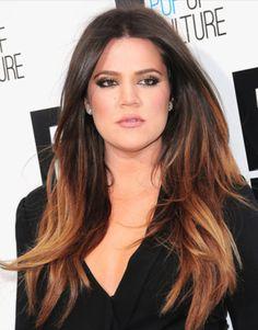 I love Khloe Kardashian's hair