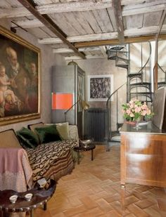 Traditional Media/Game Room by Livia Rebecchini and n/a in Rome