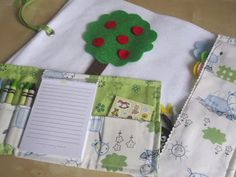 Handmade Travel Toys with Doodle Case ~ The Clay Family Blog