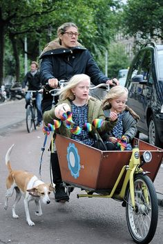 Carrying children on bikes