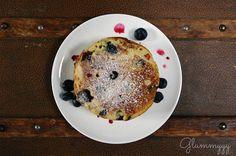 Glummyyy - se régaler sans gluten !: The (blueberry) pancakes sans gluten
