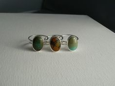 Sterling+Silver+Ring+with+Turquoise+Cabochon+by+JudyB+on+Etsy,+$75.00