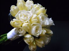 Bridal Bouquets, Tulips and Roses
