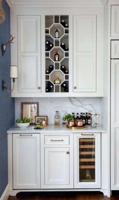 Modern Home Decor .Modern Home Decor Interior Design Kitchen, Kitchen Decor, Bar In Kitchen, Kitchen Ideas, Brooklyn Kitchen, Room Interior, Interior Decorating, Home Renovation, Home Remodeling