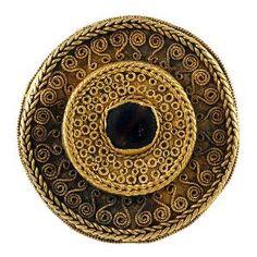 Fibula a disco, VII secolo, Museo Archeologico Nazionale di Cividale del Friuli