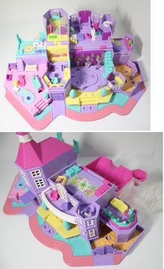 Polly Pocket Magical Mansion COMPLETE by FHKsamadsStashes on Etsy