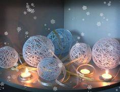 telas divinas-hacer bolas con lana