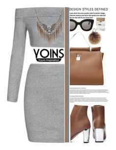 """Yoins (1/3) ♥"" by av-anul ❤ liked on Polyvore featuring CÉLINE, Rebecca Minkoff and Bella Freud"