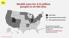"""""""Rick Scott win means a lot of folks won't be getting #Medicaid..."""" (click through to read more)"""