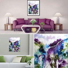 "Cristina Dalla Valentina -""Awakening"" - acrylic painting 35x45 cm - www.cristinadallavalentina.com #painting #acrylic #ink #landscape #abstract #artwork #hill"