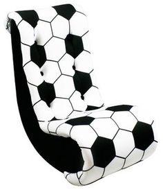 Newco Kids Soccer Video Rocker modern kids chairs