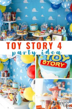 Are you planning a birthday around the release of Toy Story 4? I have everything you want to know about planning a Toy Story 4 party for a birthday or just for fun! Get diy birthday decor ideas, ideas for fun activities for kids and more! #toystory #toystoryparty #toystorybirthday #diytoystoryparty #diybirthdaypartyideas