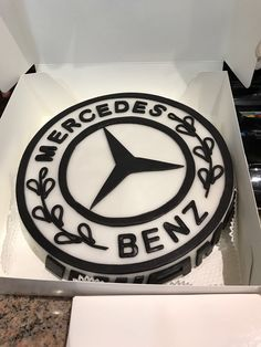 This Is My 3rd Mercedes Benz Cake Its Covered With