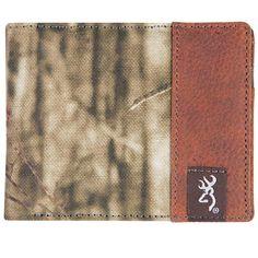 3D Mens Brown Crackle American FLAG Genuine Supple Leather Wallet Billfold