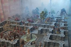 Blood Angels hold out against the Tyranids - for a little while... by jontlaw, via Flickr