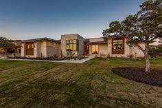 Nestled on one acre in the highly sought-after Grand Mesa at Crystal Falls in Leander, the lot features fantastic trees and stunning views! Custom Home Designs, Custom Home Builders, Custom Homes, Stunning View, Design Firms, House Plans, House Design, Modern Homes, Contemporary