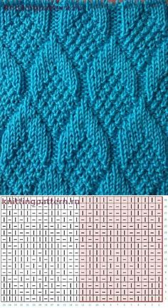 Knitting Stiches, Crochet Stitches Patterns, Knitting Charts, Hand Knitting, Stitch Patterns, Loom Patterns, Crochet Socks Tutorial, Diy Crafts Knitting, Gilet Crochet