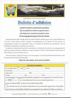 Notre Bulletin d'Adh�sion