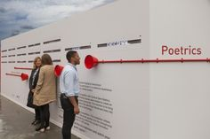 The latest from Google: An interactive art installation that turns your words into poetry | Book Patrol