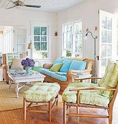 Beadboard ceiling.  For a sunroom or 3 season porch?