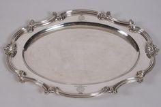 Benjamin Smith III Sterling Silver Platter